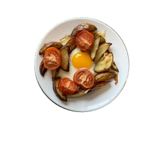 Eggs and Chips recipe