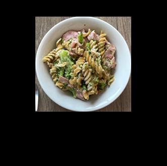 Ham and Broccoli pasta recipe